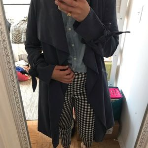 Club Monaco blue trench only worn once! Size small